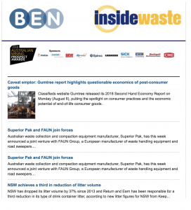 Inside Waste Newsletter